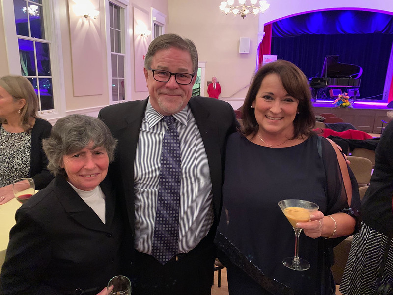 From left, Selectman Pat Wojtas, Pat Maloney and Town Clerk Tricia Dzuris, all of Chelmsford