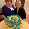 CCA's Barbara Reilly and Janet Dubner of Chelmsford. who made delicious macaroons
