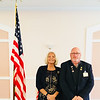 Darlene Costos, chairwoman of the Elks' Veterans Committee, and Elks Exalted Ruler Paul Eriksen, both of Chelmsford