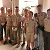 Boy Scouts from Troop 75, who were wonderful and hard-working helpers for the dinner