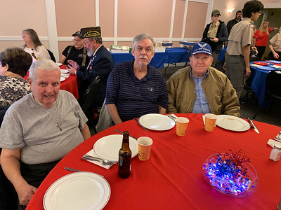 From left, Army veteran Jerry Avila, Michael Laurent and Air Force veteran Stephen Buckjune, all of Lowell