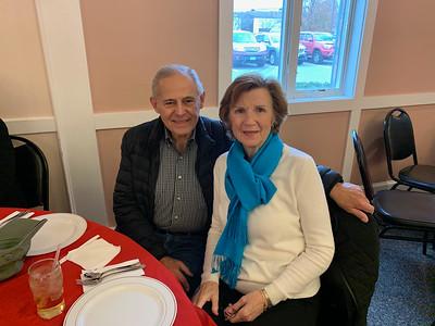 Vietnam veteran Herb Pitta and Sarah Duffy, both of Chelmsford