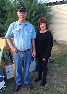 Elks members Peter Weatherbee and Mary Lukas of Chelmsford