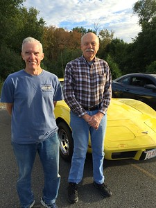 Bob Hovey, left, of Chelmsford, and Bill Zusin of Westford