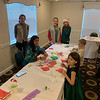 Kids enjoy arts and crafts at the Regency.