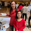 Stephanie and Isabella Florio of Leominster enjoy brunch at the Regency.
