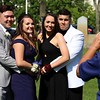 Chelmsford High School held their pre-prom on the town common on Wednesday night. Getting their picture taken at the pre-prom is, from left, Brendan Corcoran, Kira Garrity, Kaitlyn Russo and Jake Ferrer. SENTINEL & ENTERPRISE/JOHN LOVE