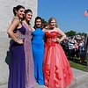 Scenes from the Chelmsford High School pre-prom on the town common on Wednesday night. SENTINEL & ENTERPRISE/JOHN LOVE