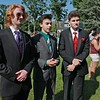Chelmsford High School held their pre-prom on the town common on Wednesday night. Getting their picture taken at the pre-prom is, from left, Patrick Lambour, Christian Barbosa and Rob Sweeney. SENTINEL & ENTERPRISE/JOHN LOVE