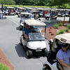 The Chelmsford Police Athletic League annual golf tournament at Sky Meadow Country Club in Nashua, NH. raised about $50,000 this year. This years golfers take off to start the fundraiser at around noon on Monday, June 19, 2017. SUN/JOHN LOVE