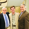 """From left, prior """"DWTS"""" participant Dennis Hunt of Chelmsford, Austin Skinner of Dracut, and Jim Dolan of Chelmsford"""