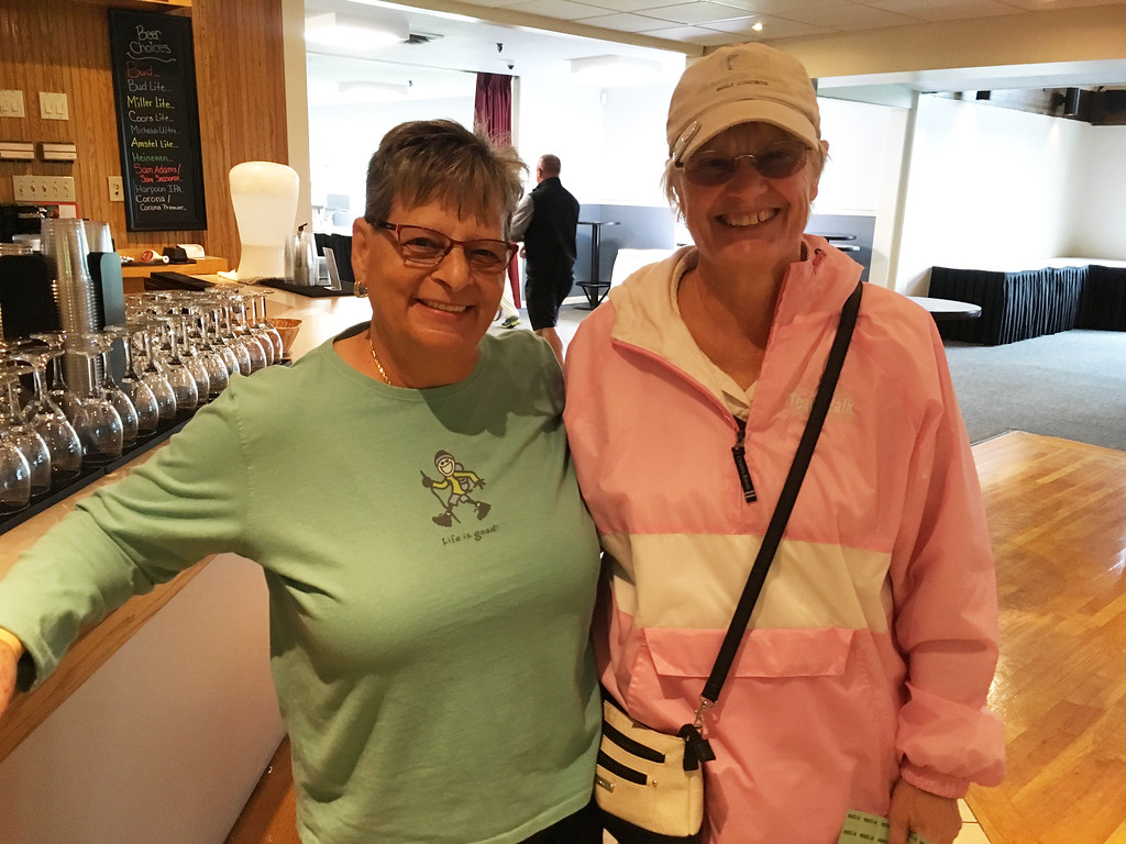 . Cathy Toppi of Billerica and Cathy Ryan of Dracut