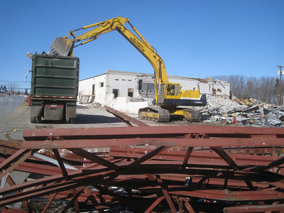 Route 3 Demolition in February 2011