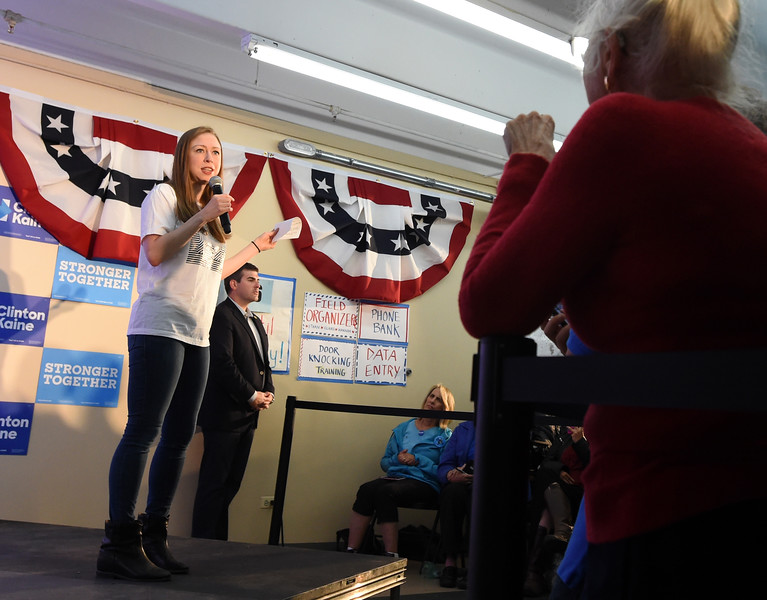 Chelsea Clinton in Boulder