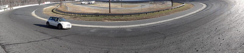 DSC07543 - Car is in Turn 3/4 - Looking EAST from Turn 3/4 towards infield