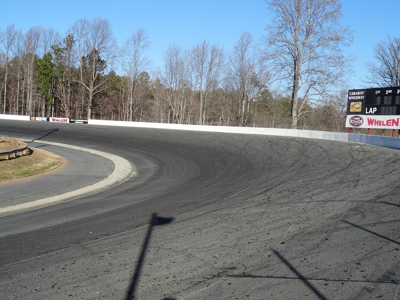 DSC07513 Looking North towards Turn 2 from East end of Grandstand