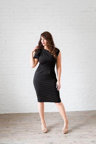 Studio Black Casual Dress