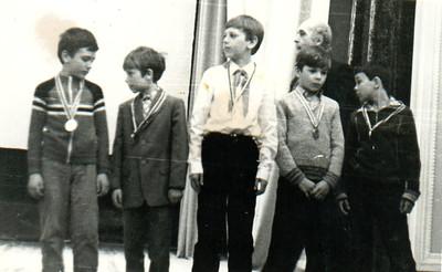 ЧИМЭСХ-1975. Награждение за первое место в чемпионате города Челябинска. Апрель 1985