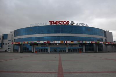 """Traktor Day. Экскурсия по арене """"Трактор"""". 1 июля 2014"""