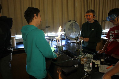 Chemistry Flame Test Lab