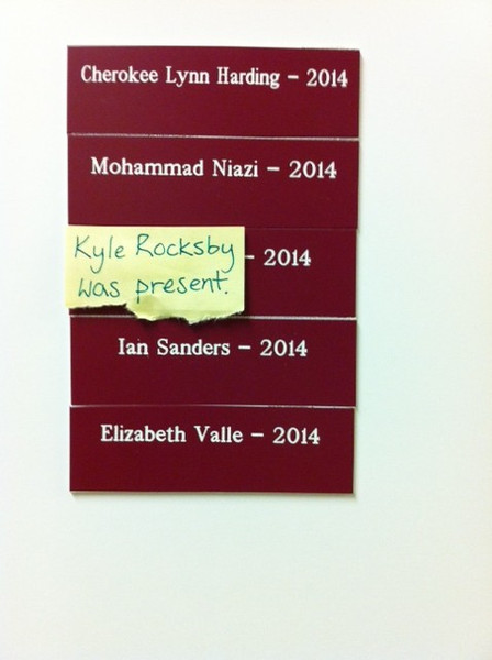 Who is Kyle Rocksby?  Oh, Kyle ROXBY!  :-)
