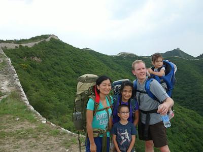 chen castle Great wall hike