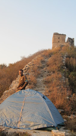 Chen castle great wall hiking & camping