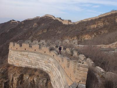 Humpback Great wall hiking 【winter】