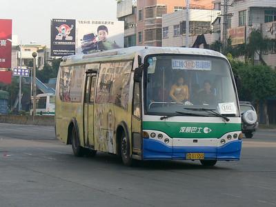 Chenghai Bus D01555 Chenghai 1 Nov 08