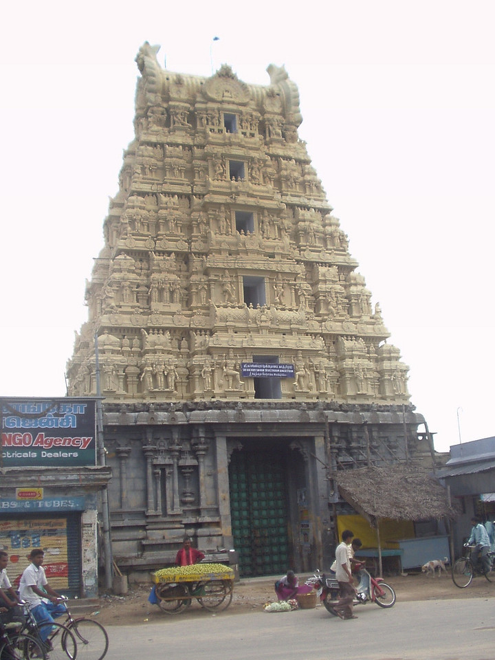 31 October: Kanchipuram