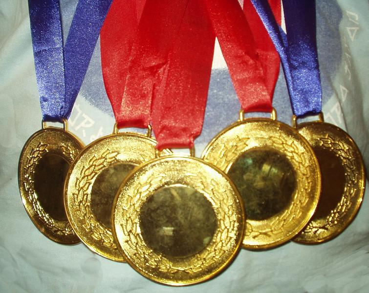 11 June: Medals