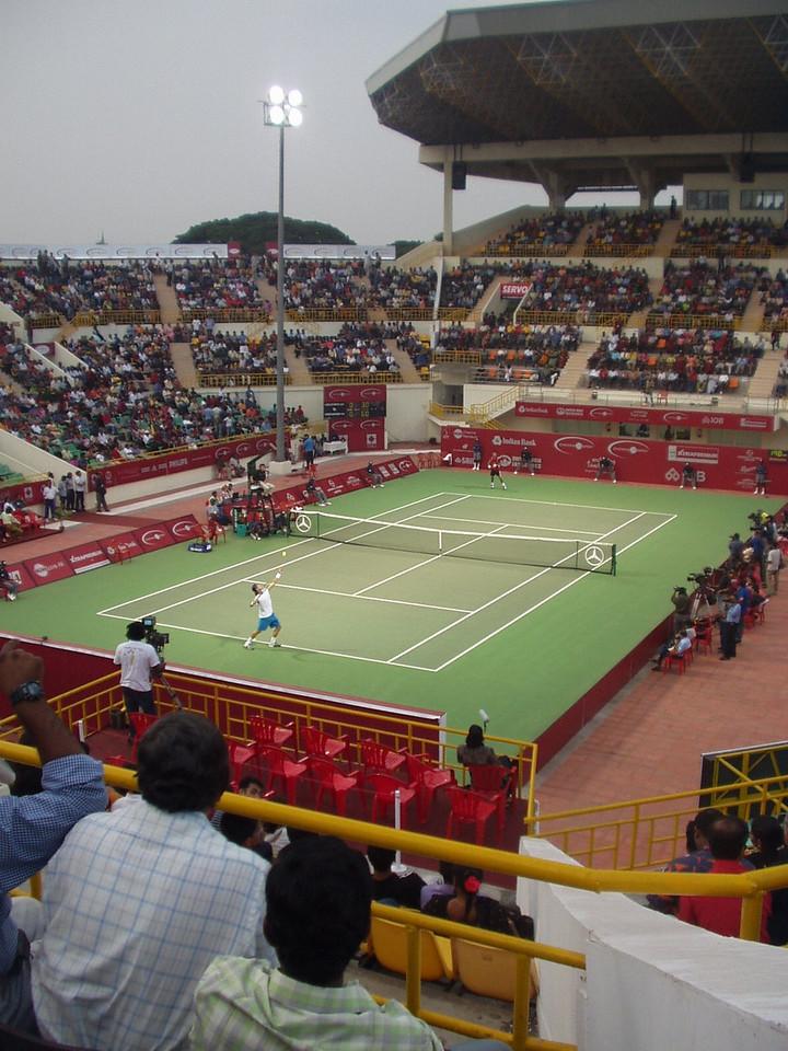 9 January: Tennis