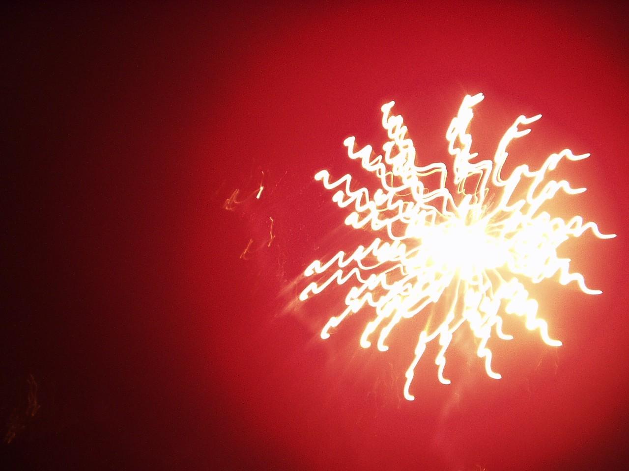 5 November: Fireworks