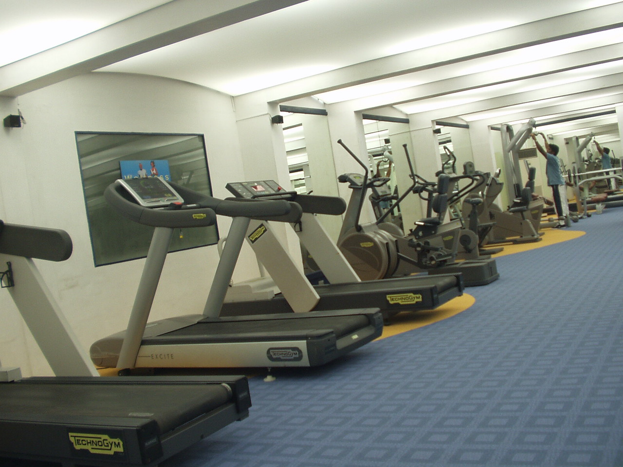 8 November: Gym