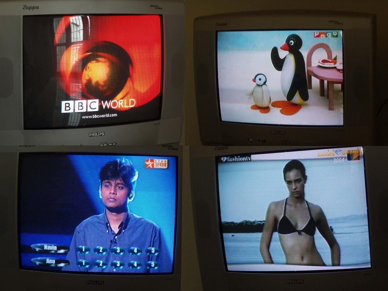 3 October: TV