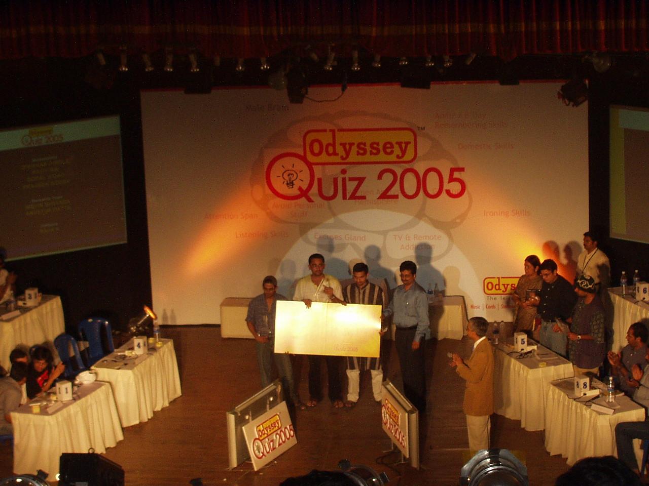26 January: Winners