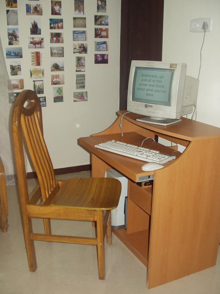 3 November: Desk