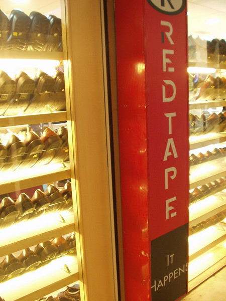 30 September: Red tape