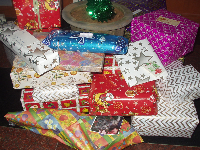 12 December: Presents