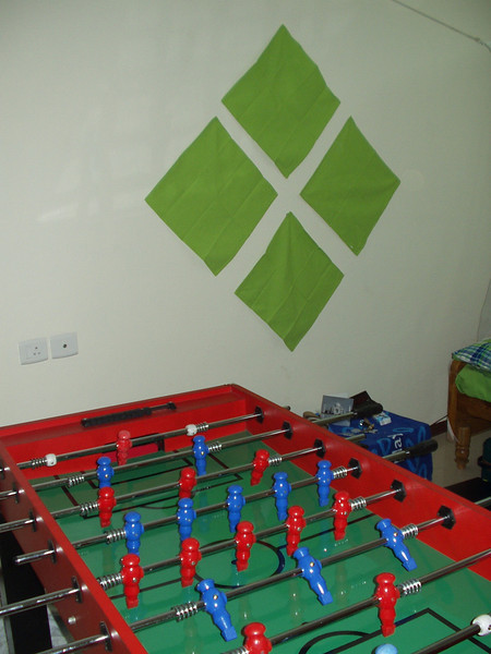 13 October: Table football