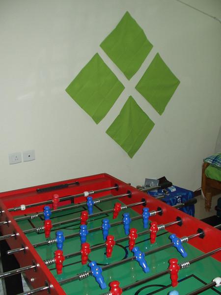 13 October: Table football