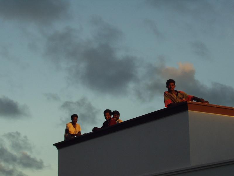 25 September: Rooftops