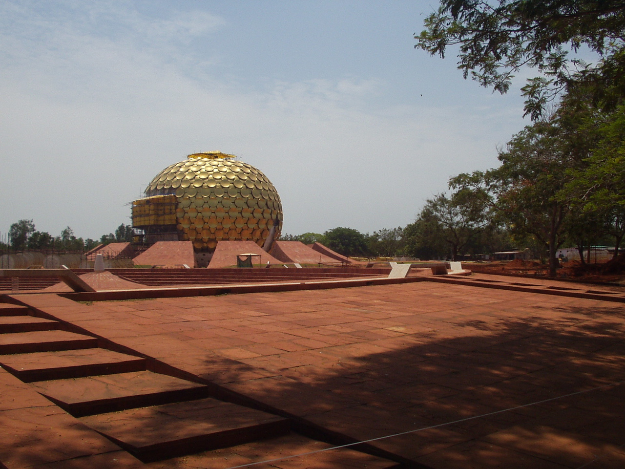 22 May: Auroville