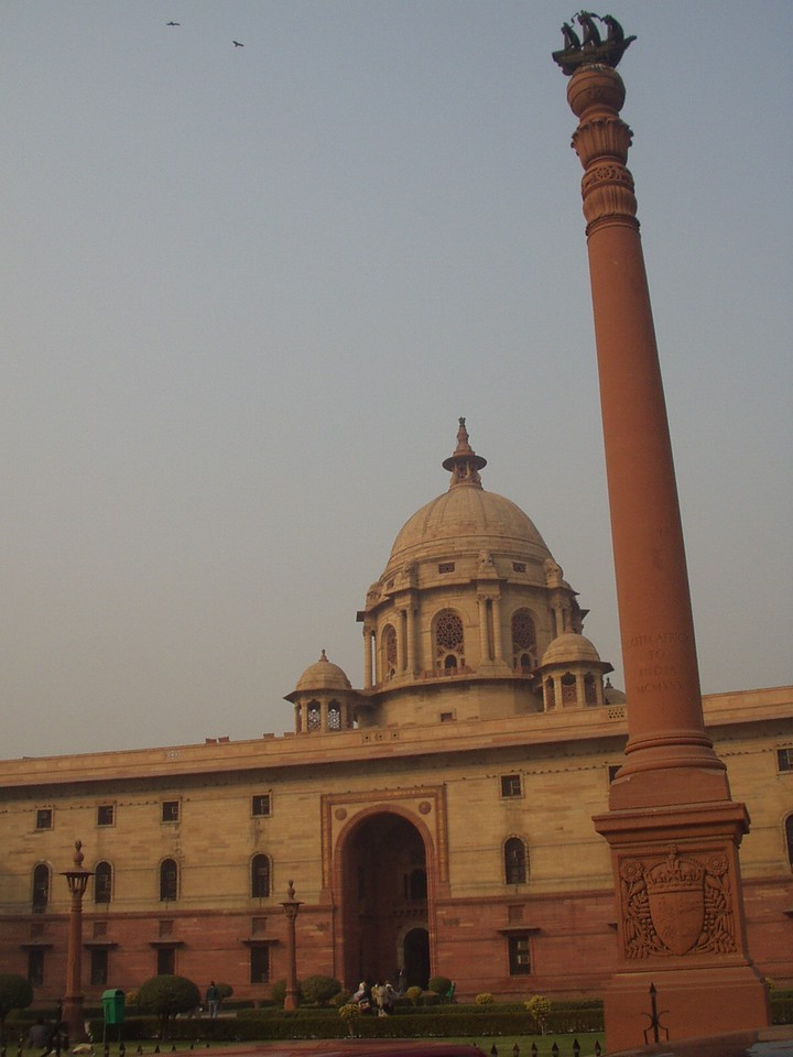 rajpath column