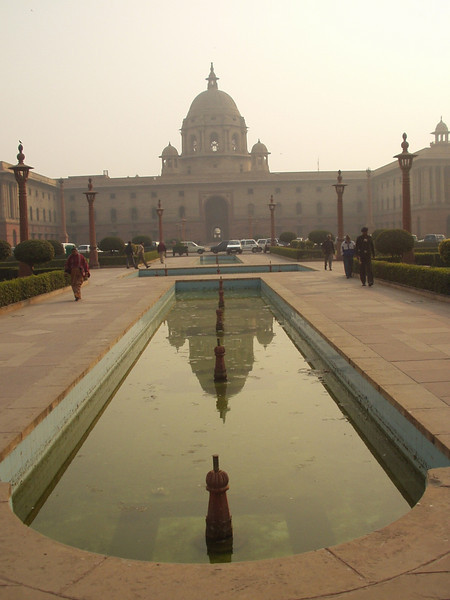 rajpath (not the taj mahal)