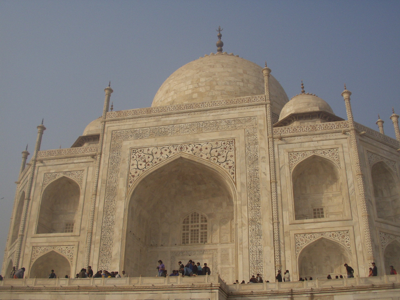 taj mahal close