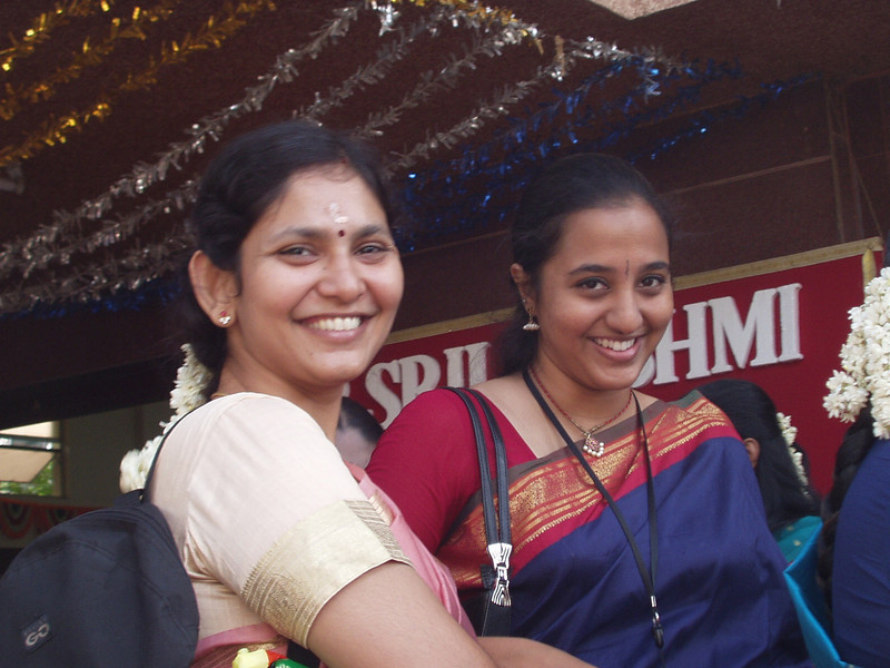 Happy Pushpa and Swetha
