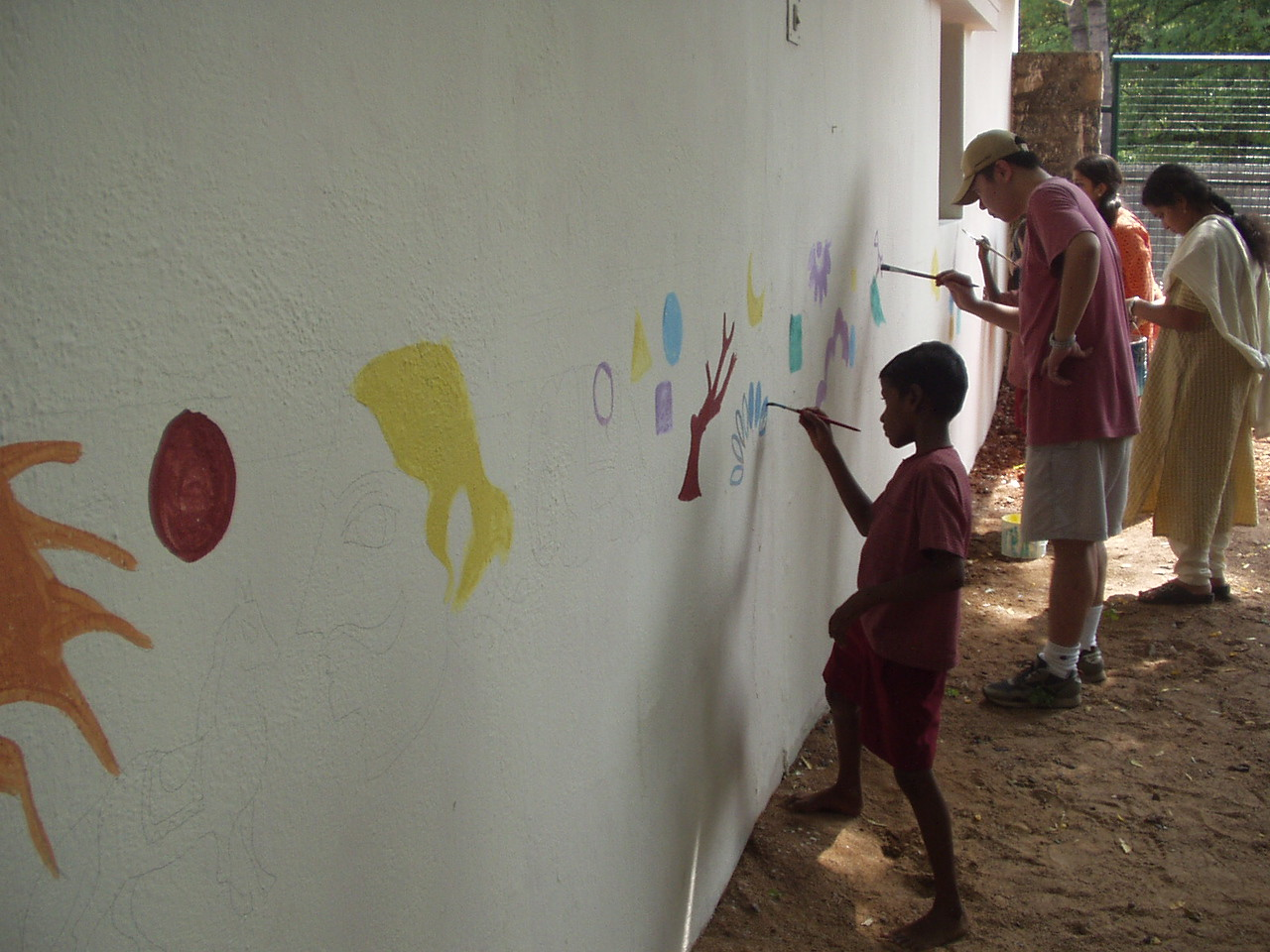 Painting the wall 1