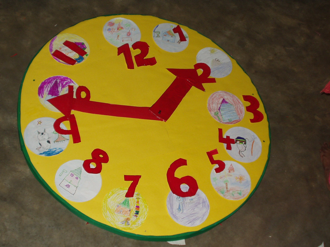 Finished clock!