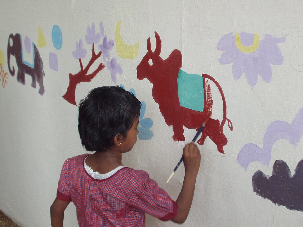 Painting the wall 4